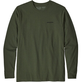 Patagonia P-6 Logo - T-shirt manches longues Homme - olive